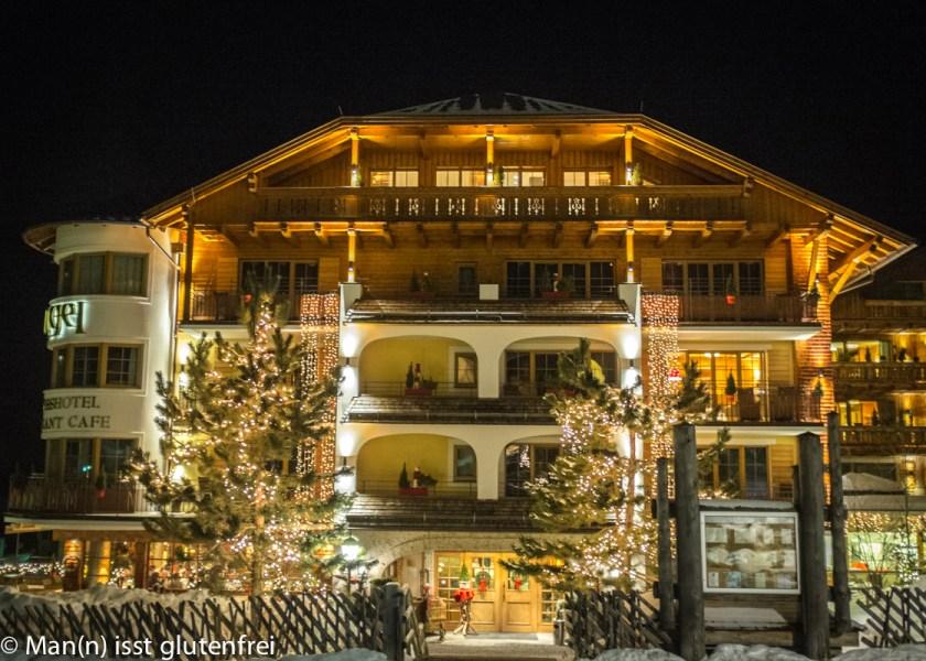 Hotel Engel Grän Außenansicht