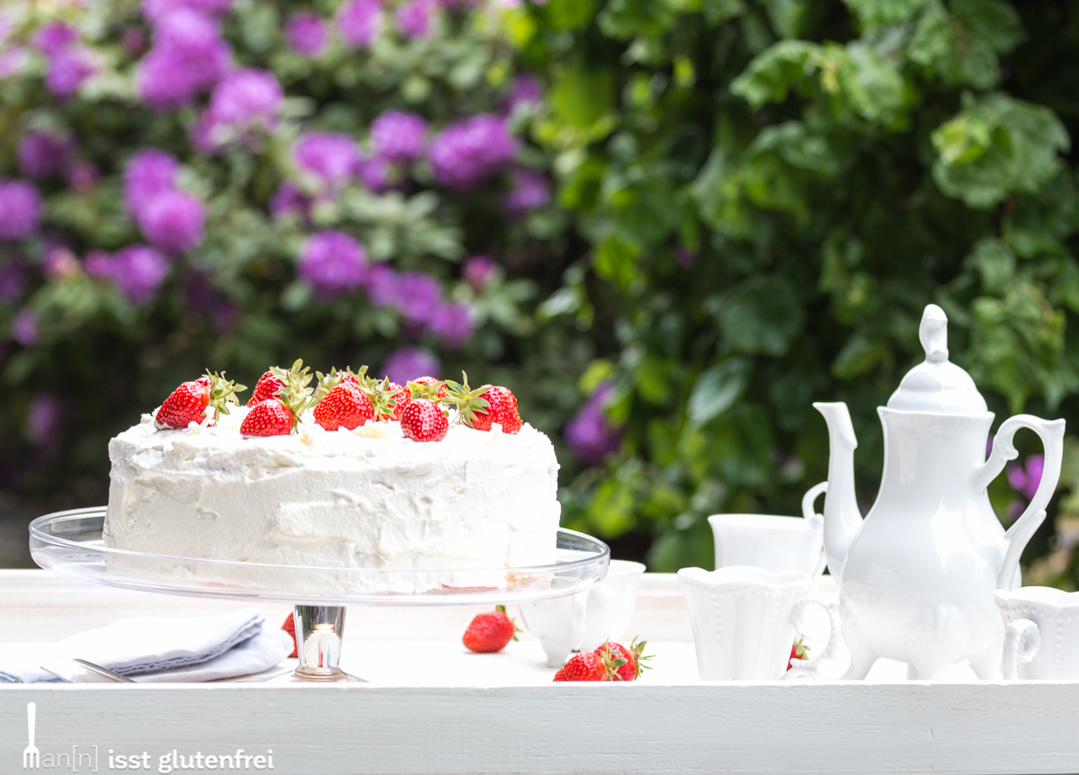 Aufbau Kühlschrank Quark : Erdbeer quark torte glutenfrei und laktosefrei man n isst