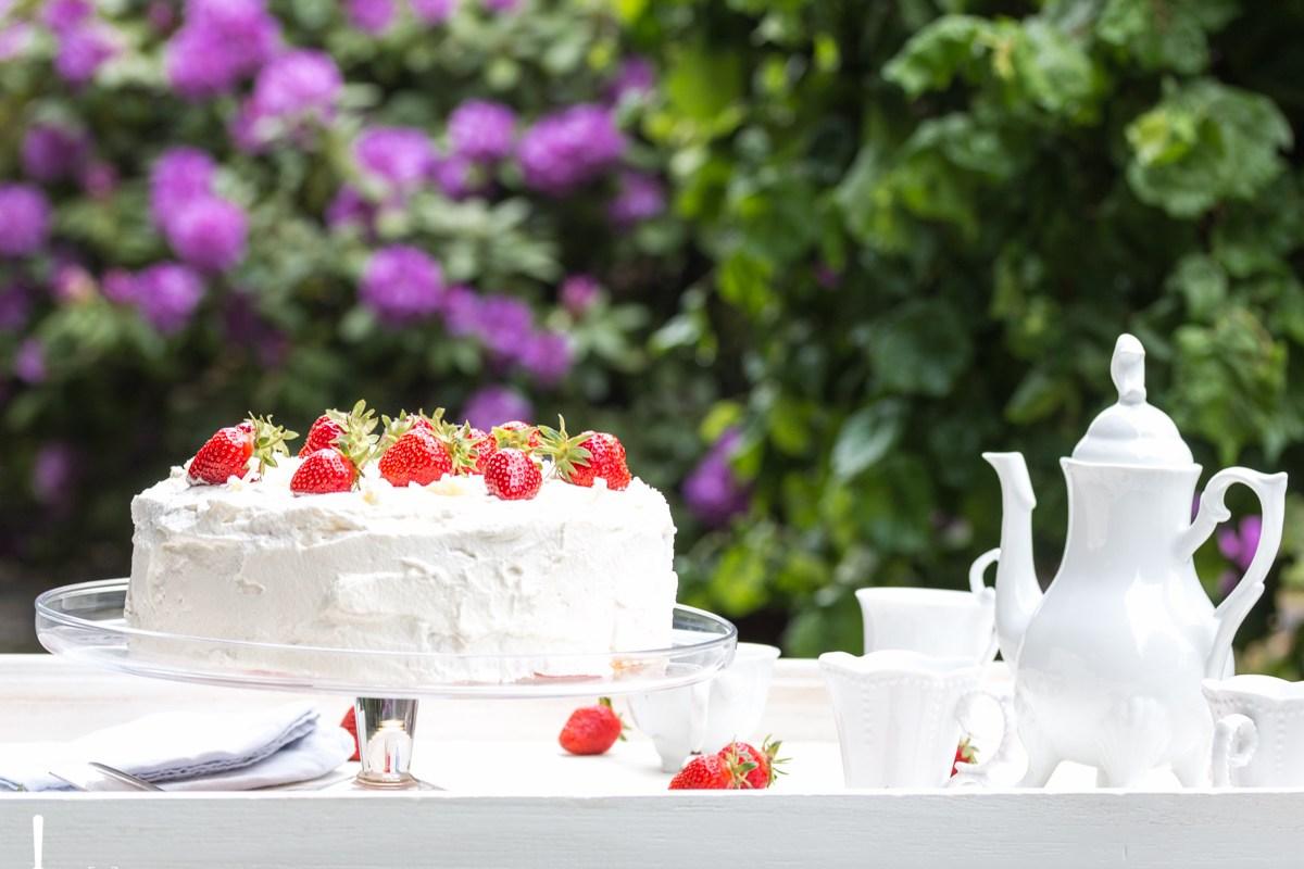 Erdbeer Quark Torte