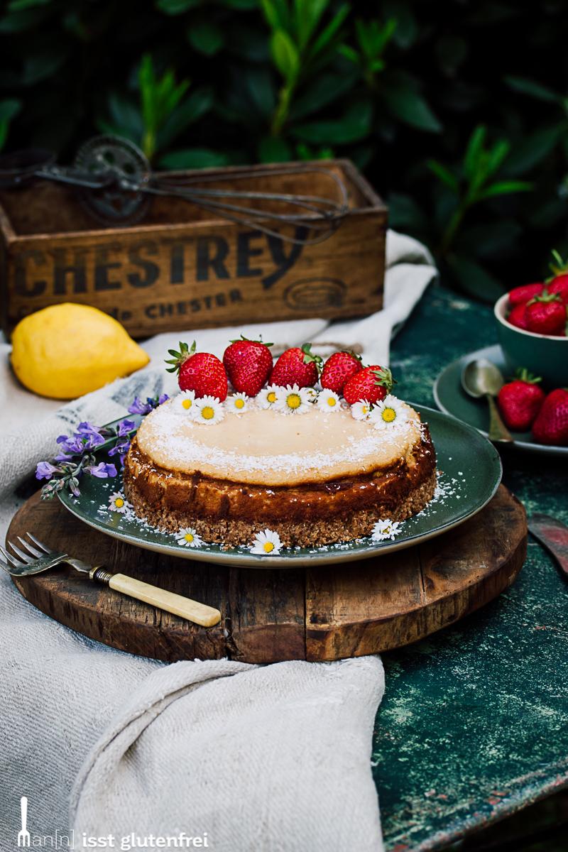 Glutenfreier Cheesecake