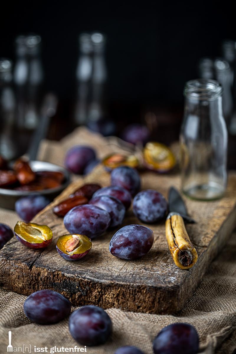 Fruchtwürze aus Pflaumen