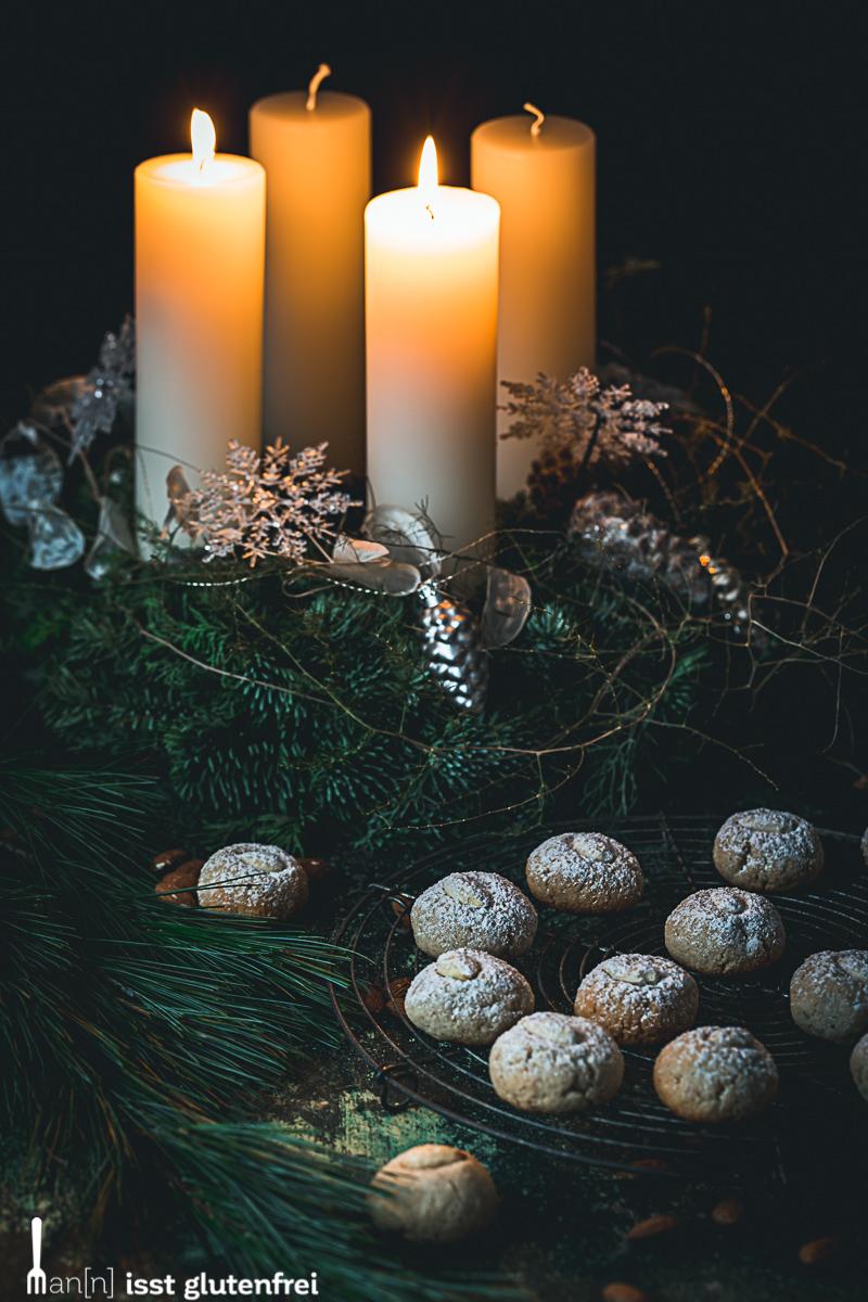 Weihnachtsplätzchen glutenfrei