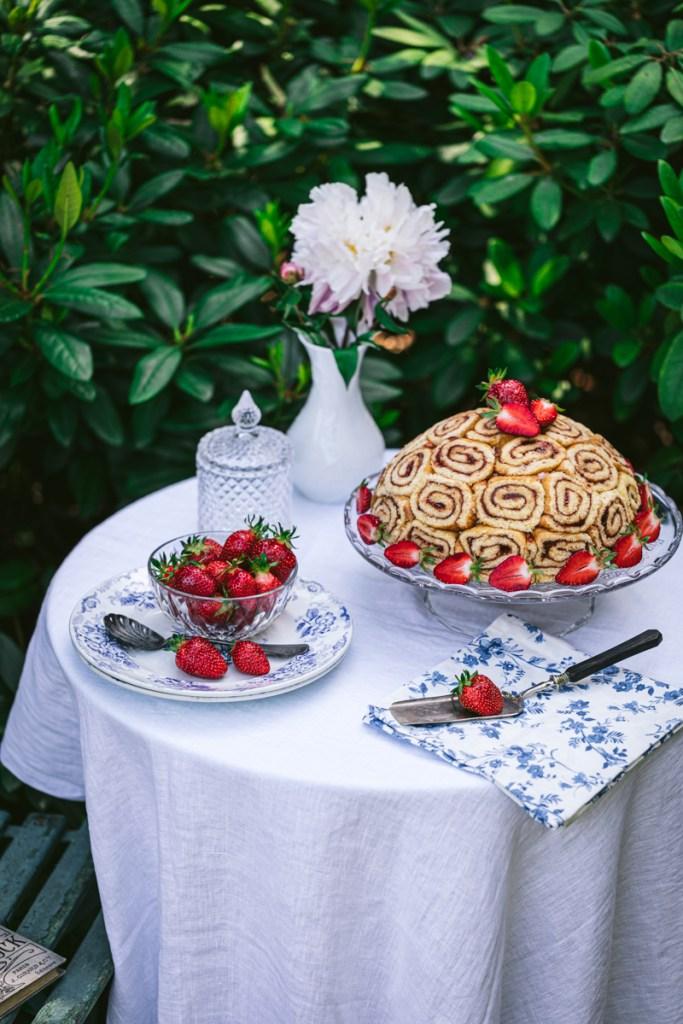 Erdbeer Charlotte
