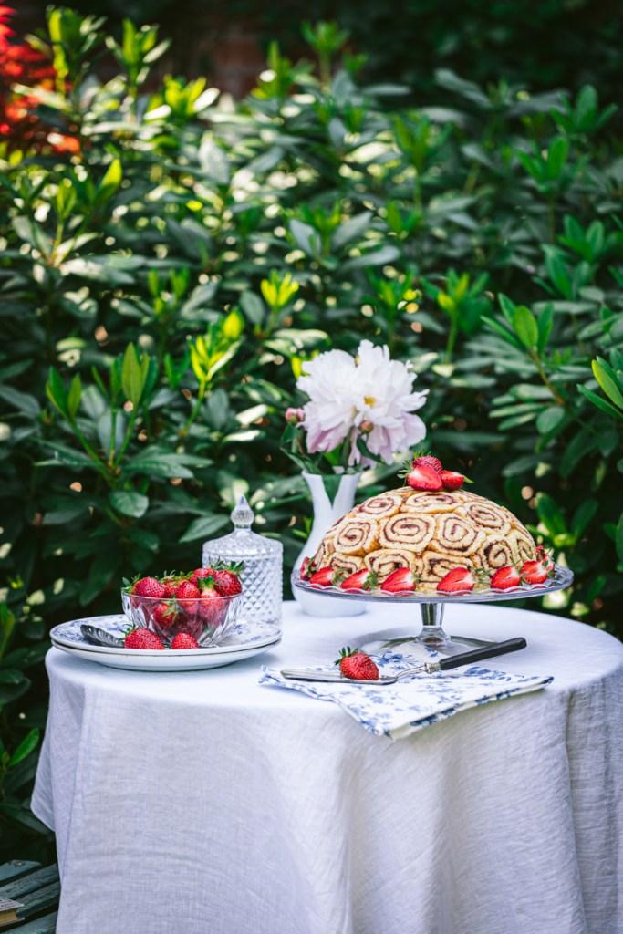 Erdbeer Charlotte laktosefrei