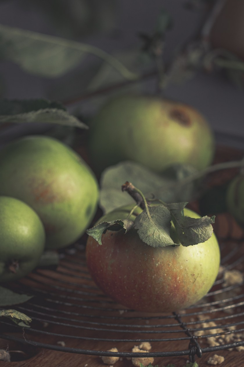 Äpfel nostalgisch