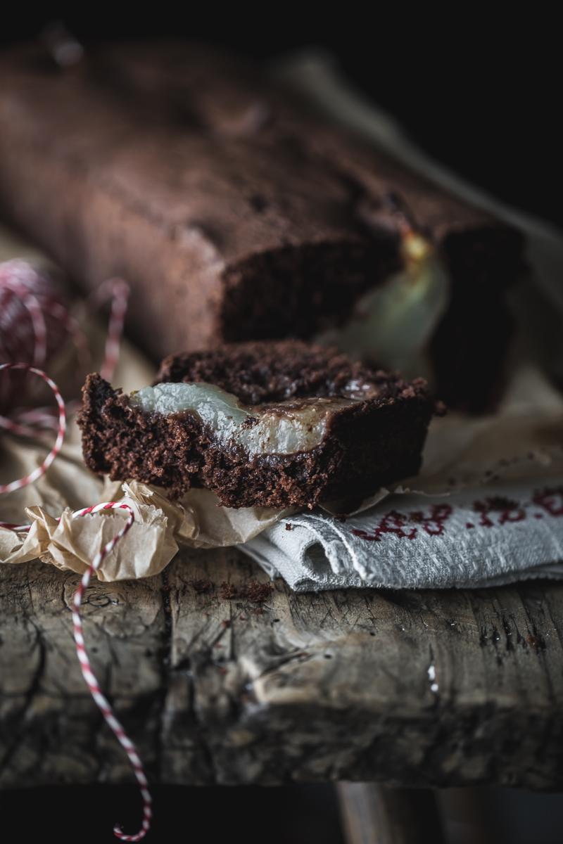 Birne Schoko Kuchen - glutenfrei und laktosefrei