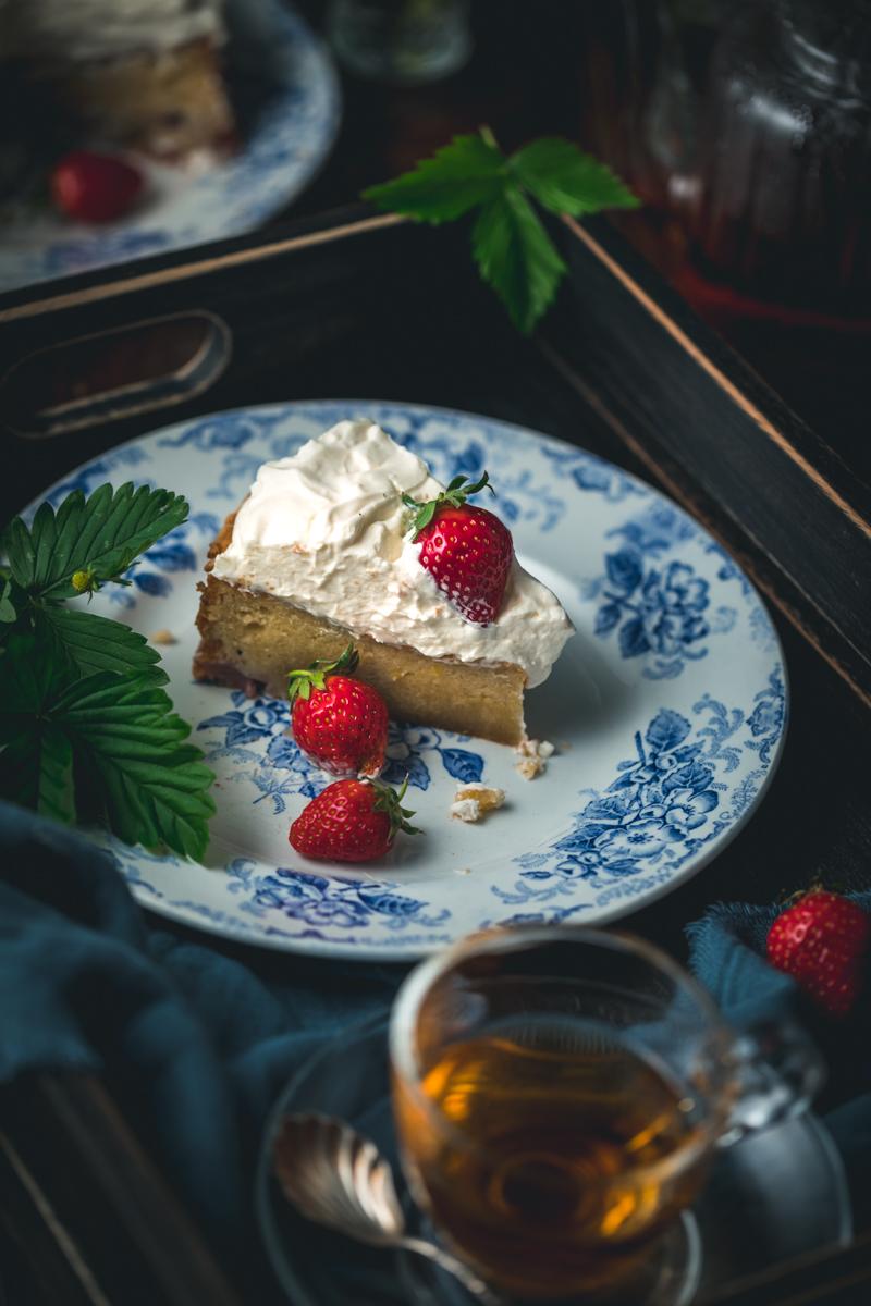 Erdbeer Mascarpone Kuchen - glutenfrei und laktosefrei