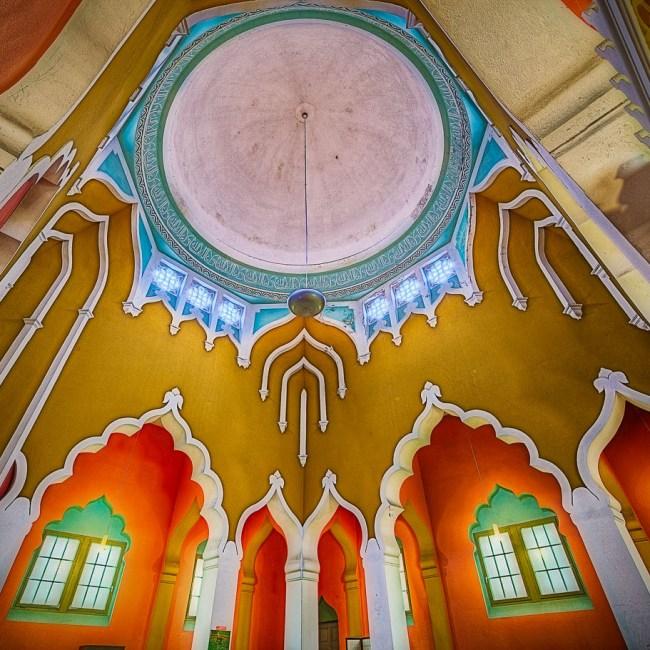 """<small style=""""color:red"""">Neue Tour:</small><br><b>""""Sakralbauten der Siemensstadt & Moschee""""</b> 7"""