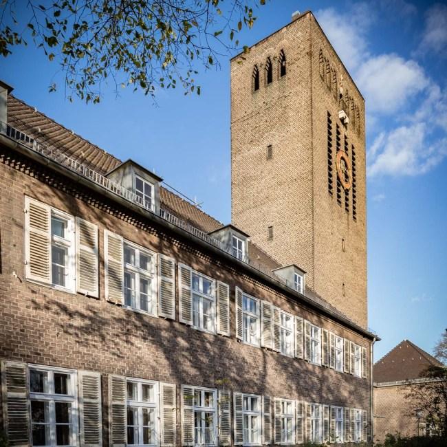 Die Christophoruskirche in Siemensstadt von aussen