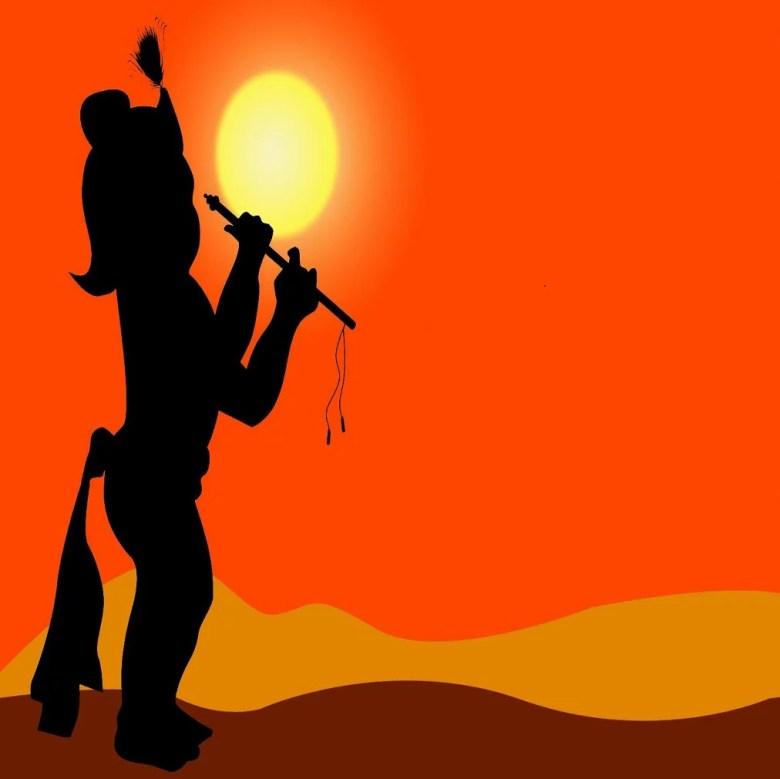 gujarati poem on krishana