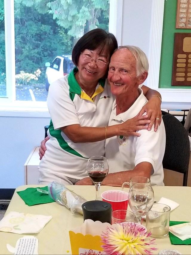 Sharon Avery and John Verhoevre