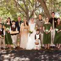 Robb Mann's family, daughter's wedding, Port Charlotte, Mann Family