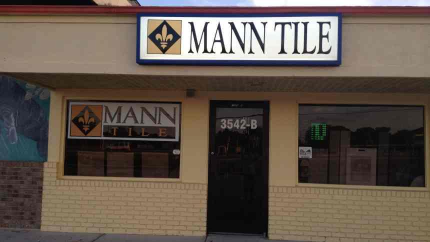 Mann Tile Storefront with Sign, Englewood, FL