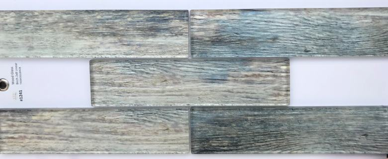Wood Look Has Made It To Backsplashes Mann Tile Design Studio And Installation