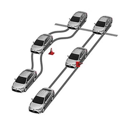 Frenos ABS y EBD   Permiten al Agya frenar en todo momento con seguridad, manteniendo el control del vehículo, independientemente de la cantidad de carga.