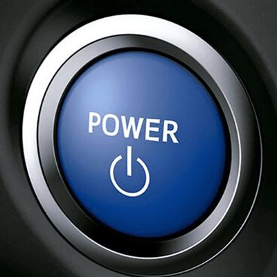 Encendido por botón   Inicia tu aventura híbrida con sólo apretar un botón.