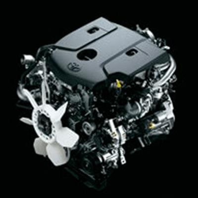 Motor   Nuevos motores de ultima tecnología, disponibles en 1GD (2.8 litros y 174.3 hp), 2GD (2.4 litros y 147.5 hp) y 2TR (2.7 litros y 163.6 hp).