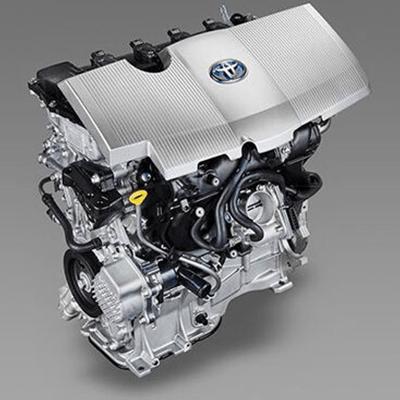 Motores en Sinergia   Motor de 1.8 litros y 4 cilindros en línea, combinado con un potente motor eléctrico gracias al Hybrid Synergy Drive para una potencia combinada de 121 HP.