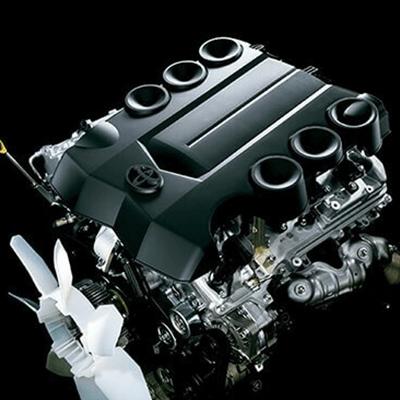 Motor V6 de 4 litros   Potente motor de 3,956 cc. con 268 hp. y 38.7 kg/4400 rpm. de torque, que regula inteligentemente la sincronización de válvulas, para un desempeño superior y mayor torque en velocidades bajas y medias.