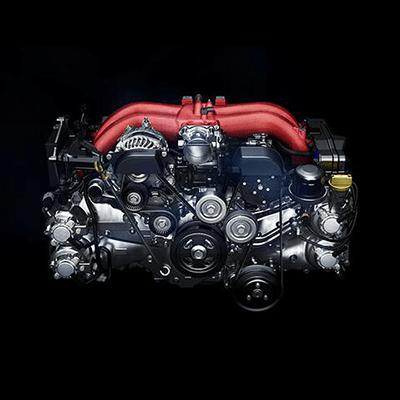 Inyección Directa D-4S.    Motor bóxer de 2.0 L, 4 cilindros y 200 HP. Con tecnología de inyección directa D-4S, para una excelente respuesta en aceleración, control de la potencia y torque.
