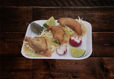 Tacos de Pescado $6.00