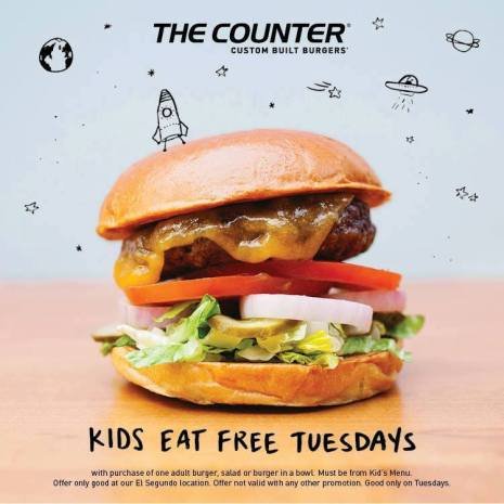 The Counter Kids eat Free Flyer