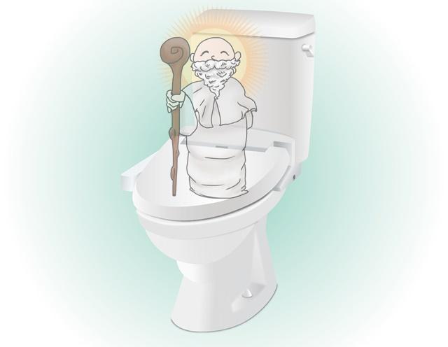 トイレと神様