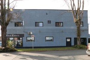 Parksville Masonic Hall, 136 Memorial Avenue, Parksville, B.C. (photo: Manoah Lodge No. 141 Webmaster)