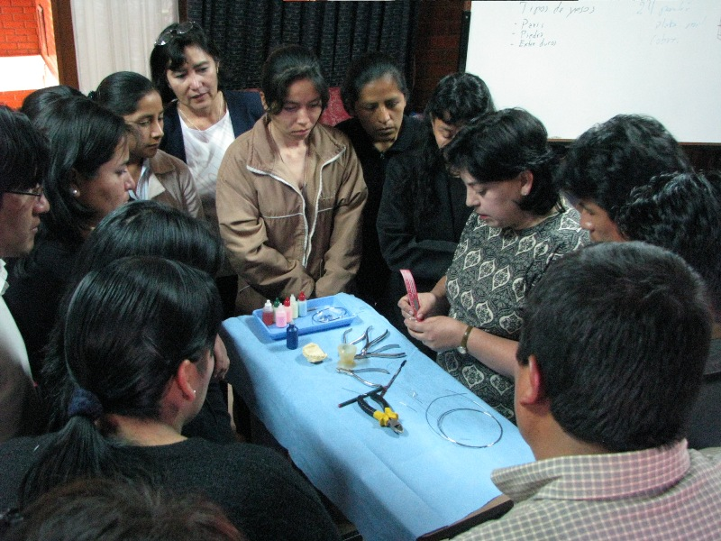 Continuing education workshop for dentists.