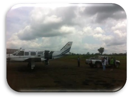 Distributing Donated Supplies with the Mano a Mano Plane
