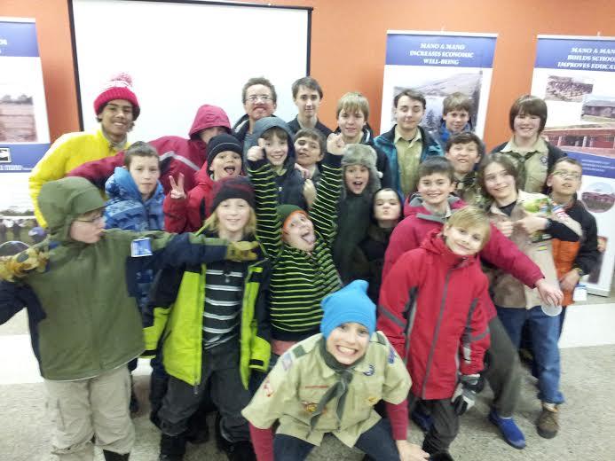 Thanks Boy Scout Volunteers!