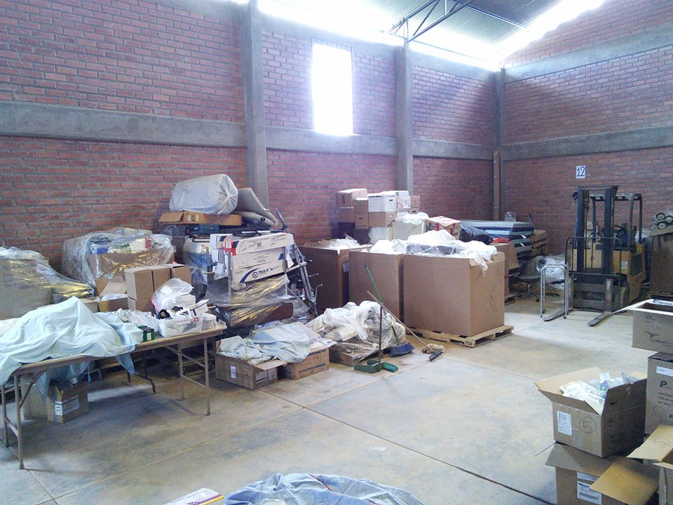 Warehouse for Surplus is Complete