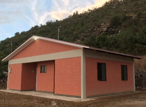 Teacher housing is part of the Guitarrani school project.