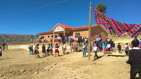 New Clinic Dedicated in Jatun Mayu, Bolivia