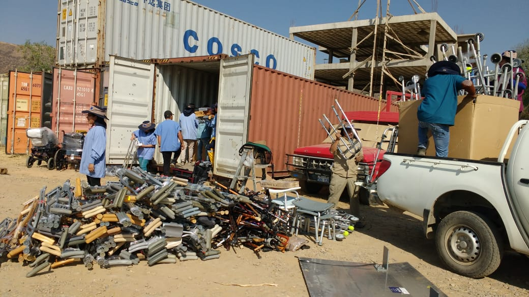 40,000+ Pounds of Recovered Resources Arriving in Cochabamba