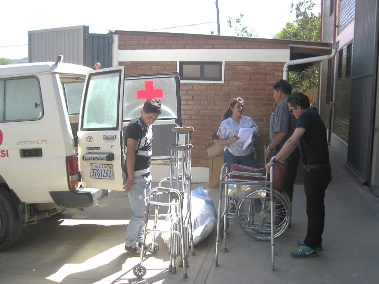Distributing PPE & Medical Supplies to 70 Organizations in Bolivia