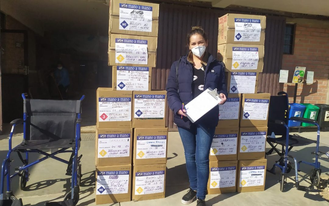 Donating Supplies in Cochabamba for COVID-19 Support