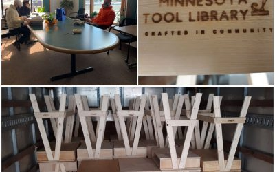 Update: Helping Distribute Desks From Minnesota Tool Library to St. Paul Kids Learning Remotely