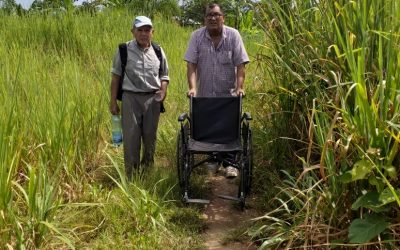 Donating a Wheelchair for Pascuala in Beni, Bolivia