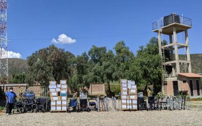 Distributing Medical Supplies and Equipment in Bolivia – March/April 2021