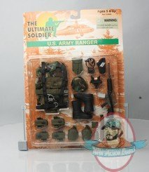 12 Ultimate Soldier US US Army Ranger Set By 21st Century Toy Man Of Action Figures