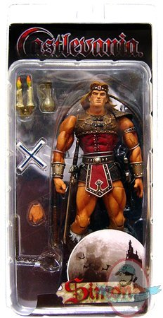 Castlevania Simon Belmont Action Figure By NECA Man Of Action Figures