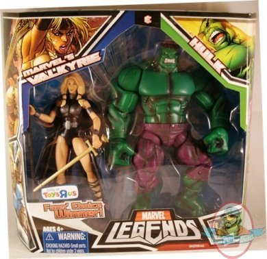 Marvel Legends 2 Pack Valkyrie Amp Incredible Hulk Exclusive Man Of Action Figures