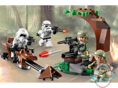 Lego Star Wars Endor Rebel Trooper Imperial Trooper 9489