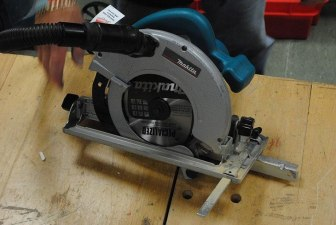 remove a hardwood floor with a circular saw