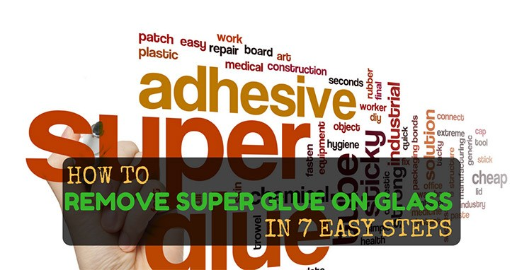 How to remove super glue