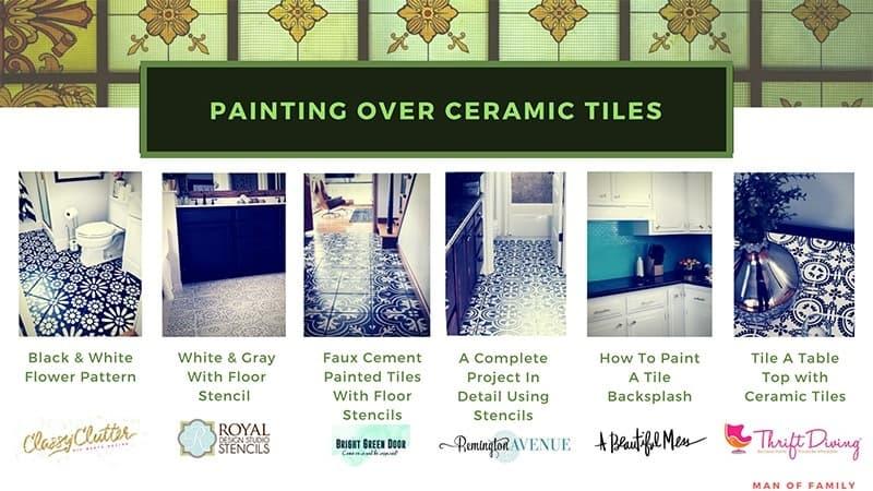 tile paint how to paint ceramic tile