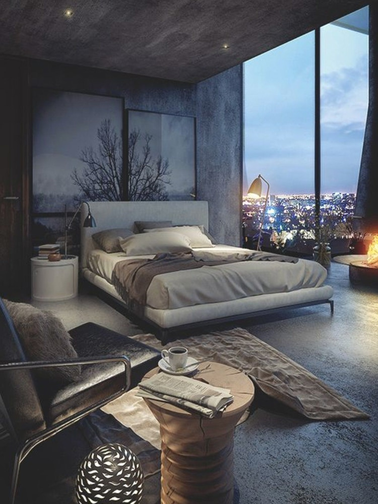 40+ Masculine Bedroom Ideas & Inspirations | Man of Many on Bedroom Ideas For Men Small Room  id=85595
