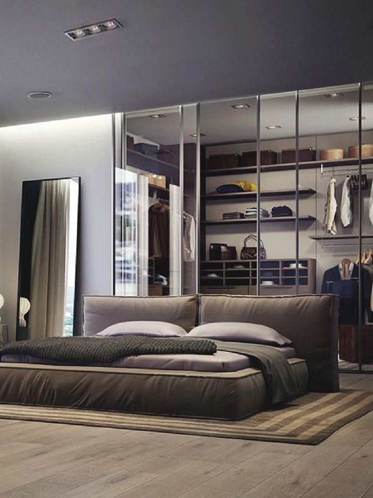 40+ Masculine Bedroom Ideas & Inspirations | Man of Many on Small Room Ideas For Guys  id=91738