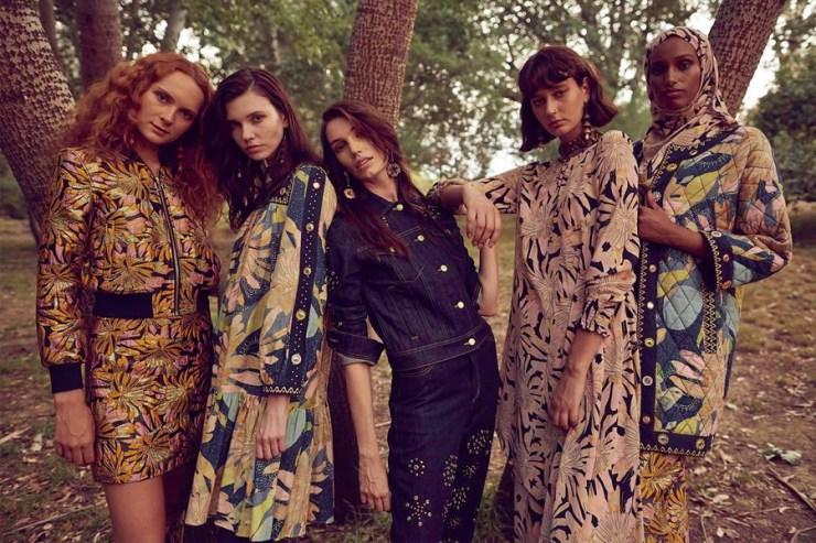 models at the park wearing gorman clothing